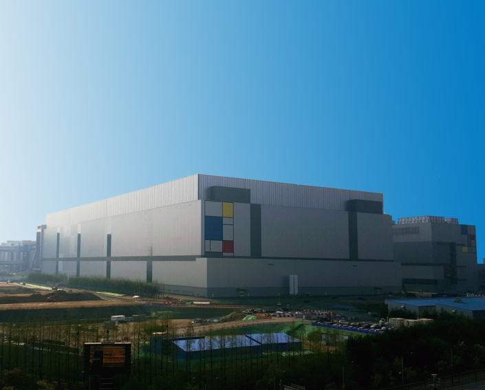 Samsung Electronics' Foundry manufacturing line located in Hwaseong, Korea